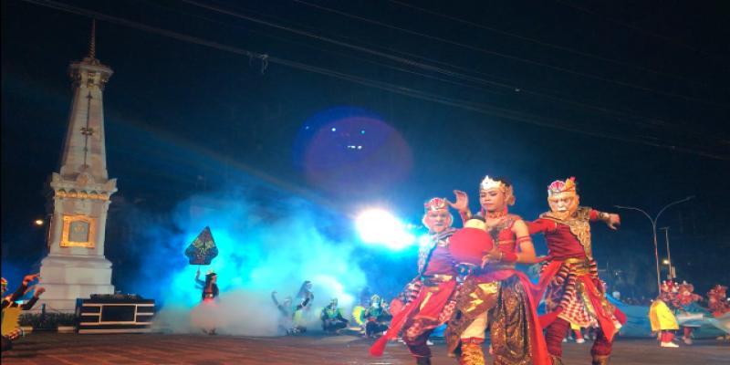 Persembahan dari Kecamatan Gondomanan berjudul Kunti di WJNC #3