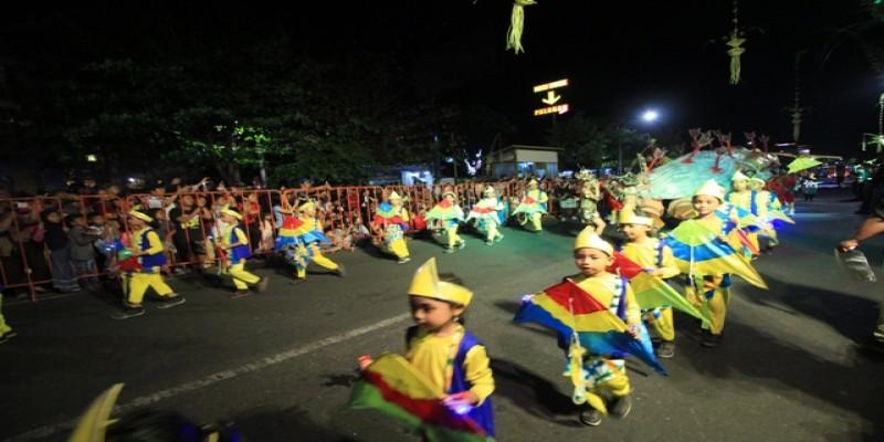 Srikandi dari Kecamatan Danurejan di Wayang Jogja Night Carnival #3