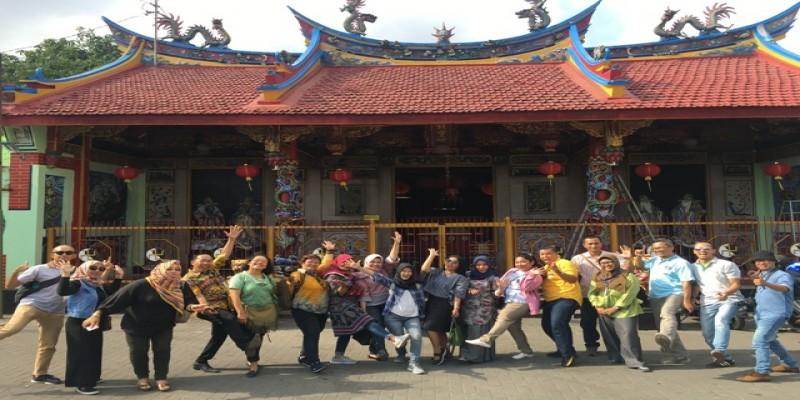 Kunjungan Ke Klenteng Tjen Ling Kiong atau Klenteng Poncowinatan pada acara Test Tour
