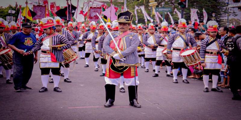 Pawai dan Pembukaan Festival Kebudayaan Yogyakarta 2019