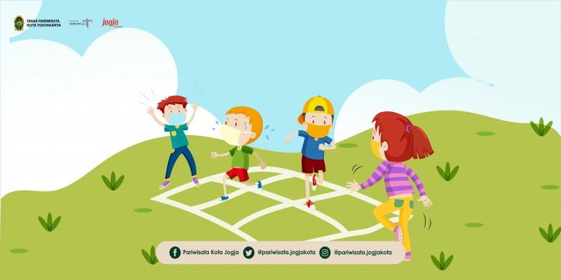 Gobak Sodor Sebagai Permainan Tradisional Anak