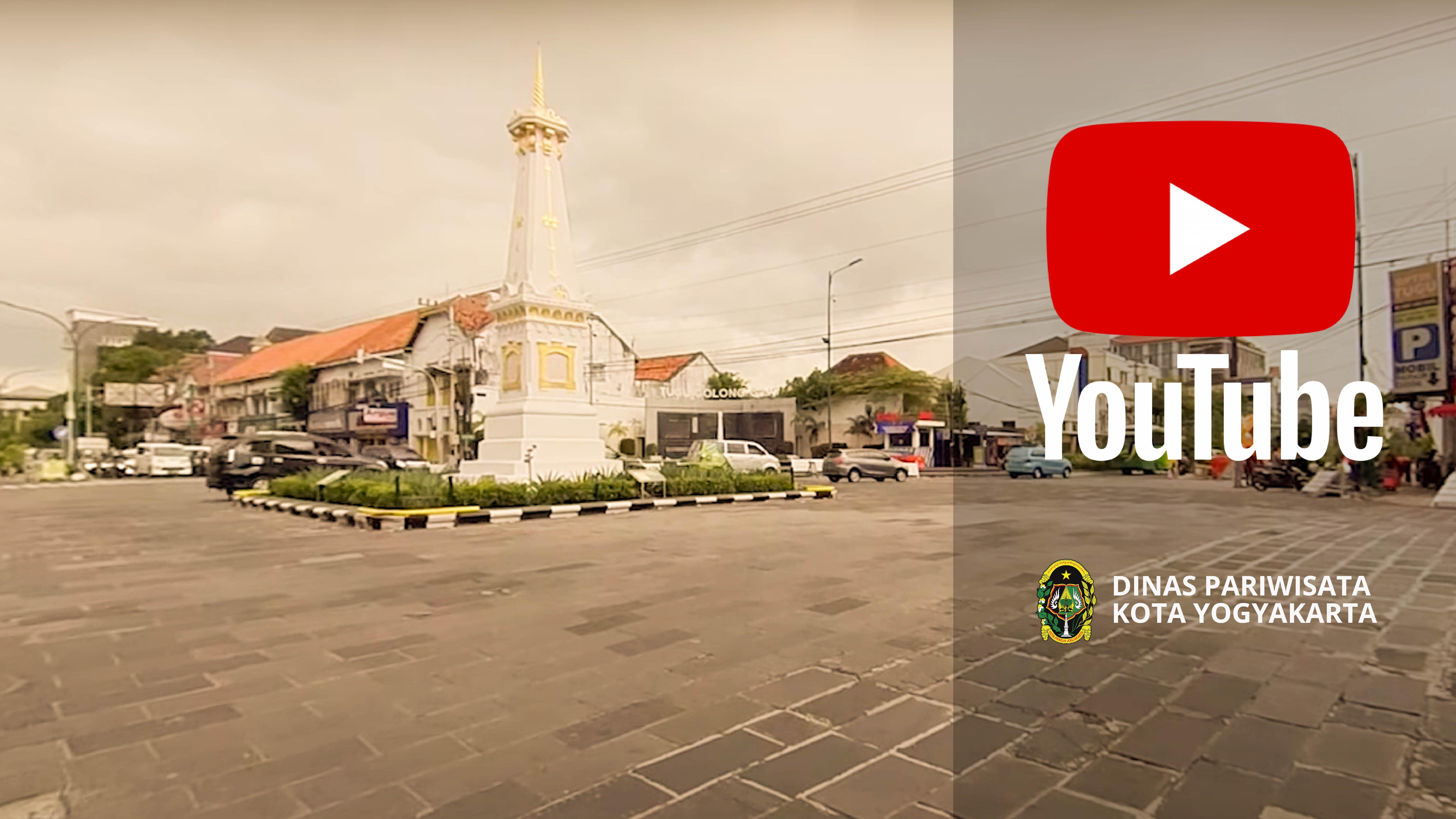 Official Youtube Dinas Pariwisata Kota Yogyakarta