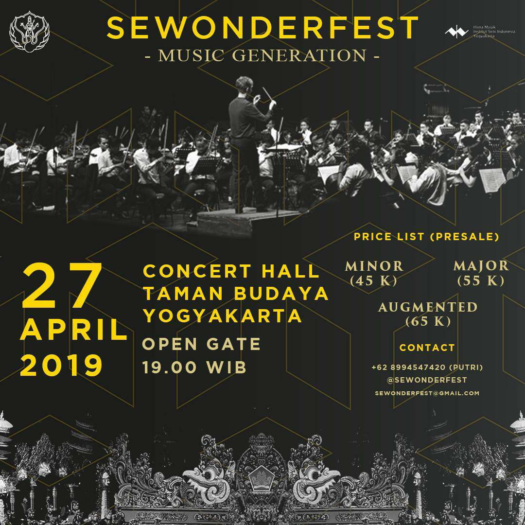 SEWONDERFEST Music Generation