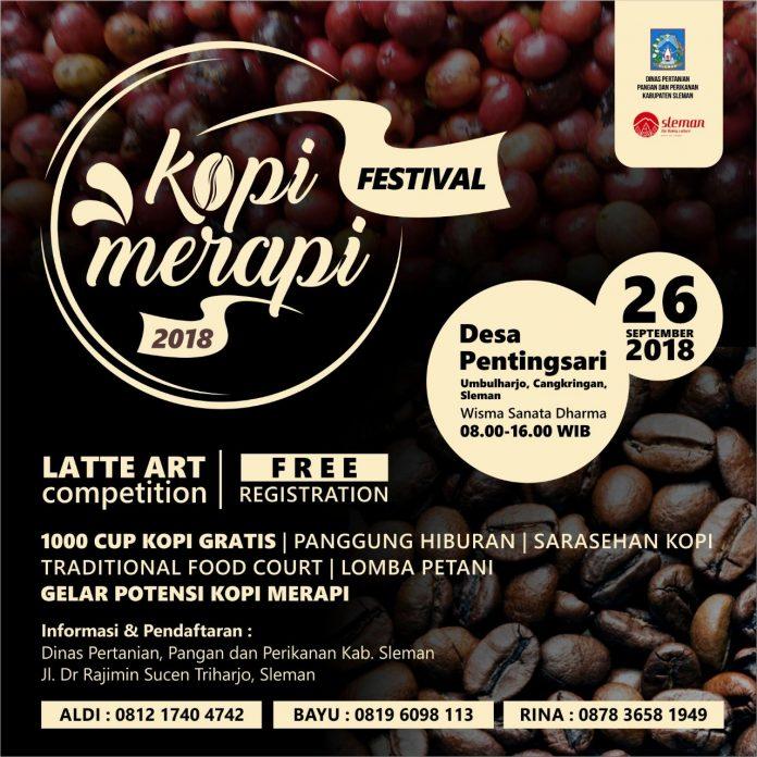 Kopi Merapi Festival 2018