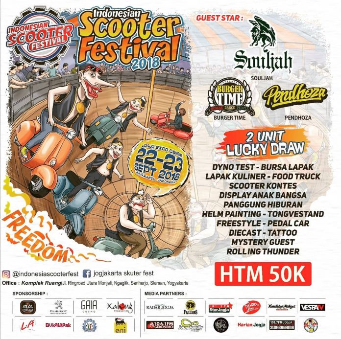 Indonesian Scooter Festival 2018