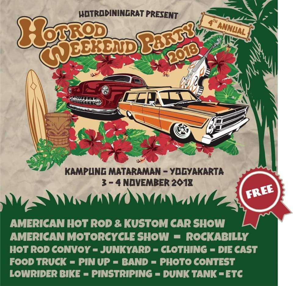 HOTROD WEEKEND PARTY 2018