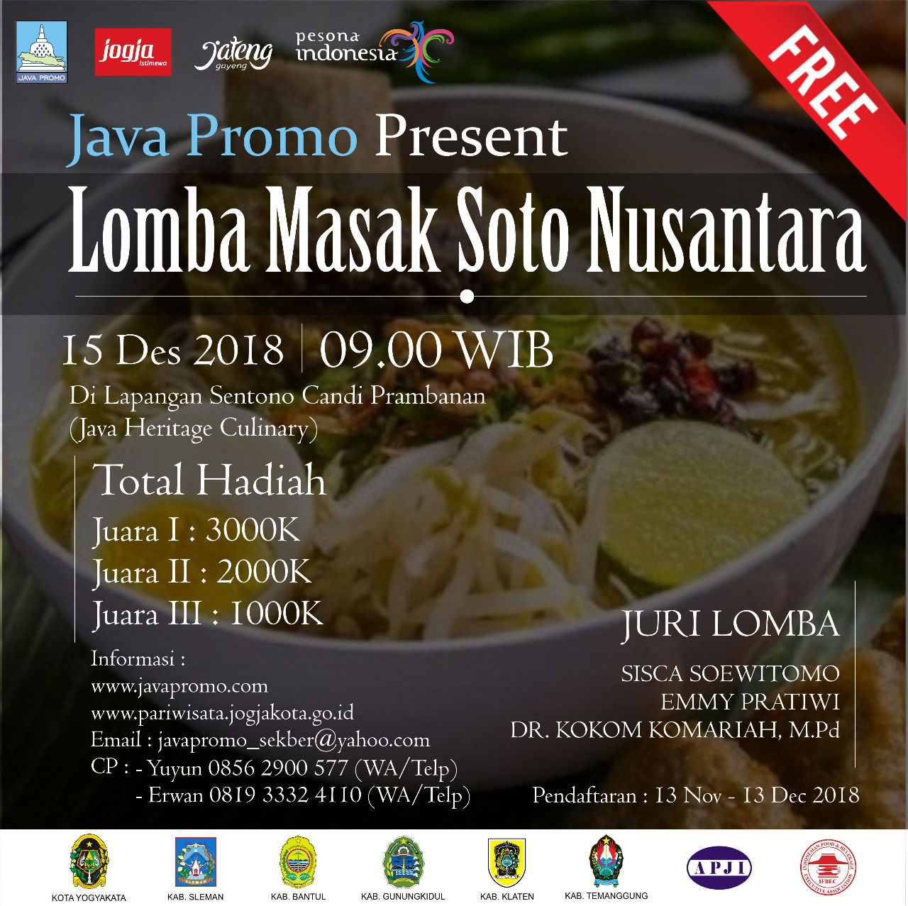 Lomba Masak Soto Nusantara