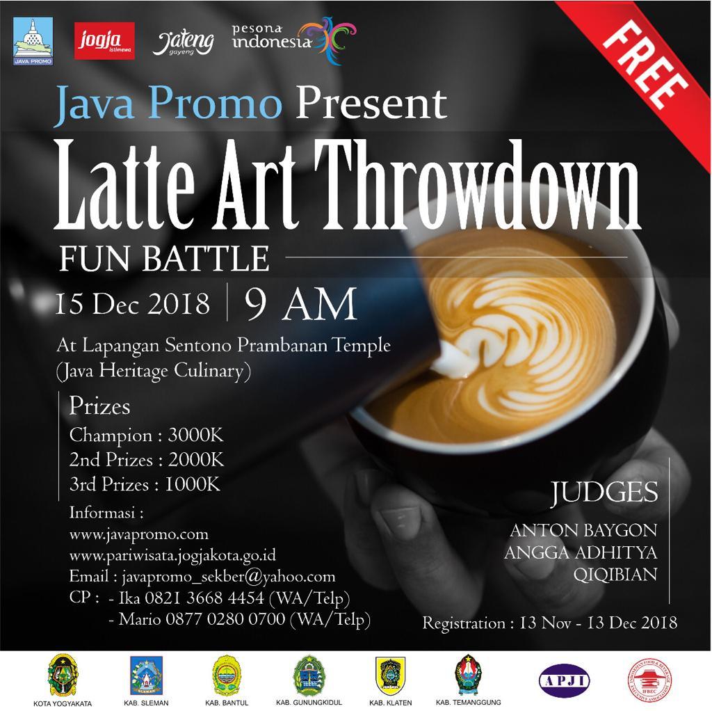 Latte Art Throwdown Fun Battle